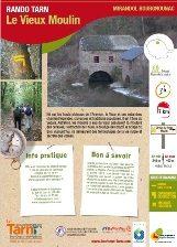 MIRANDOL - Le vieux moulin