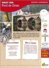 MIRANDOL - Pont de Cirou